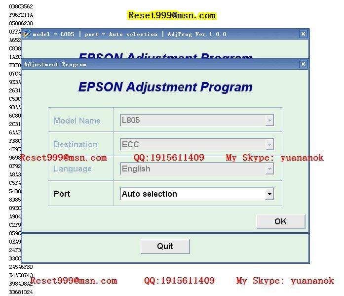 Epson 1430 Adjustment Program rar