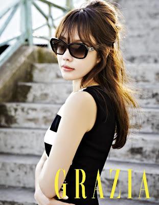 Kim Ah Joong - Grazia Magazine May Issue 2013