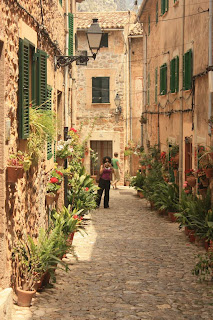 Rectoria street in Valldemossa