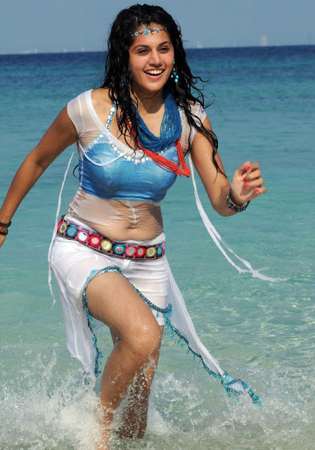 Tapsee actress hot photos in Daruvu Movie