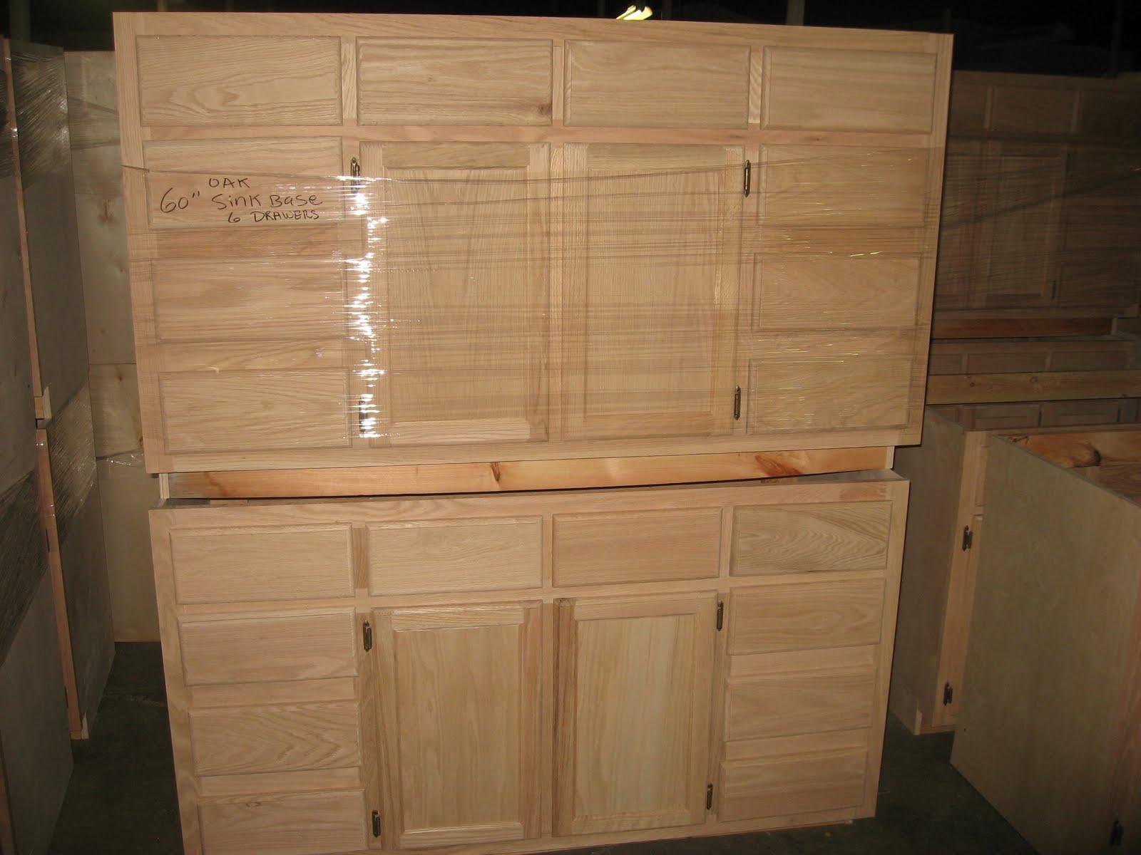 Blue Ridge Surplus: Oak Unfinished Cabinets