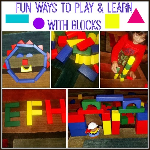 Learning & Playing with Blocks #activity