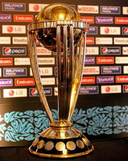 icc world cup cricket trophy. World Cup trophy which was
