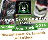 Open Cross Country in West Limerick...Sun 21st Aug