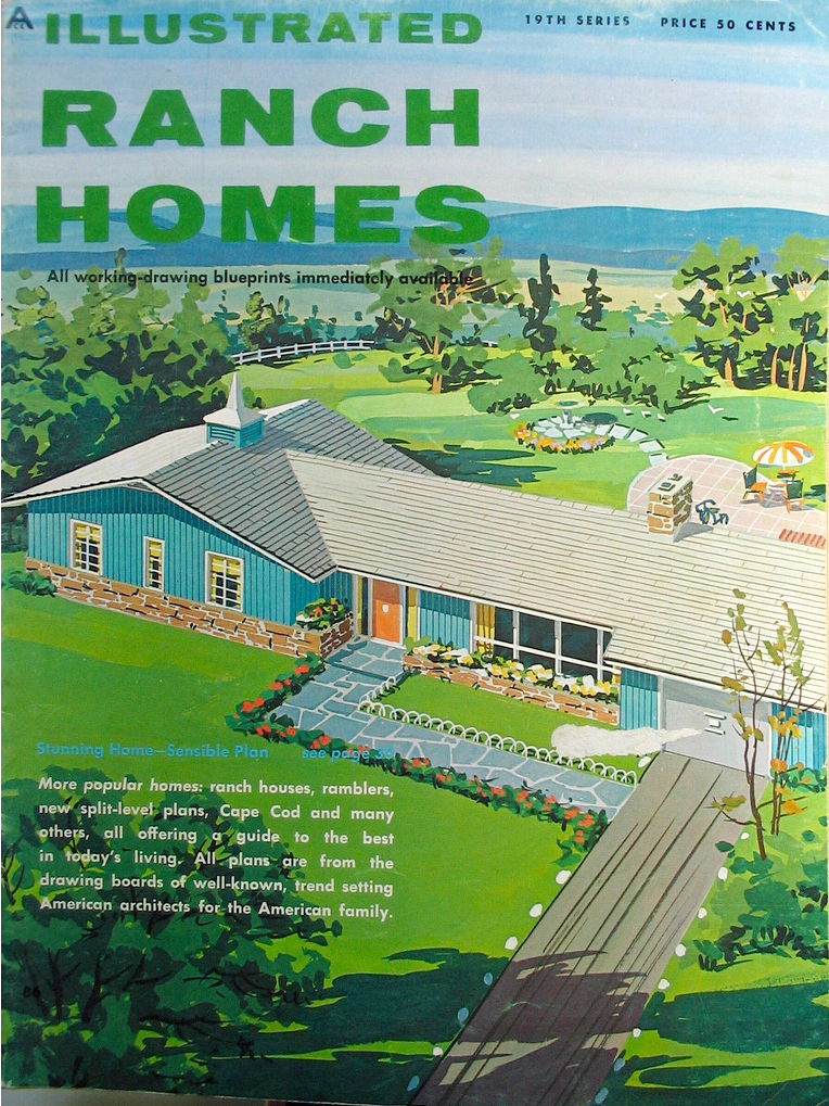 HOUSE PLANS OF 1960   S HOMES   House Design