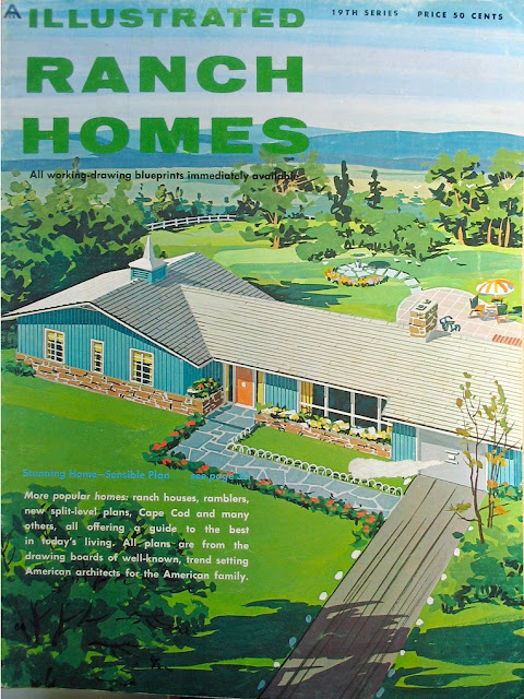 Mid centuria art design and decor from the mid century for 1960s ranch house plans