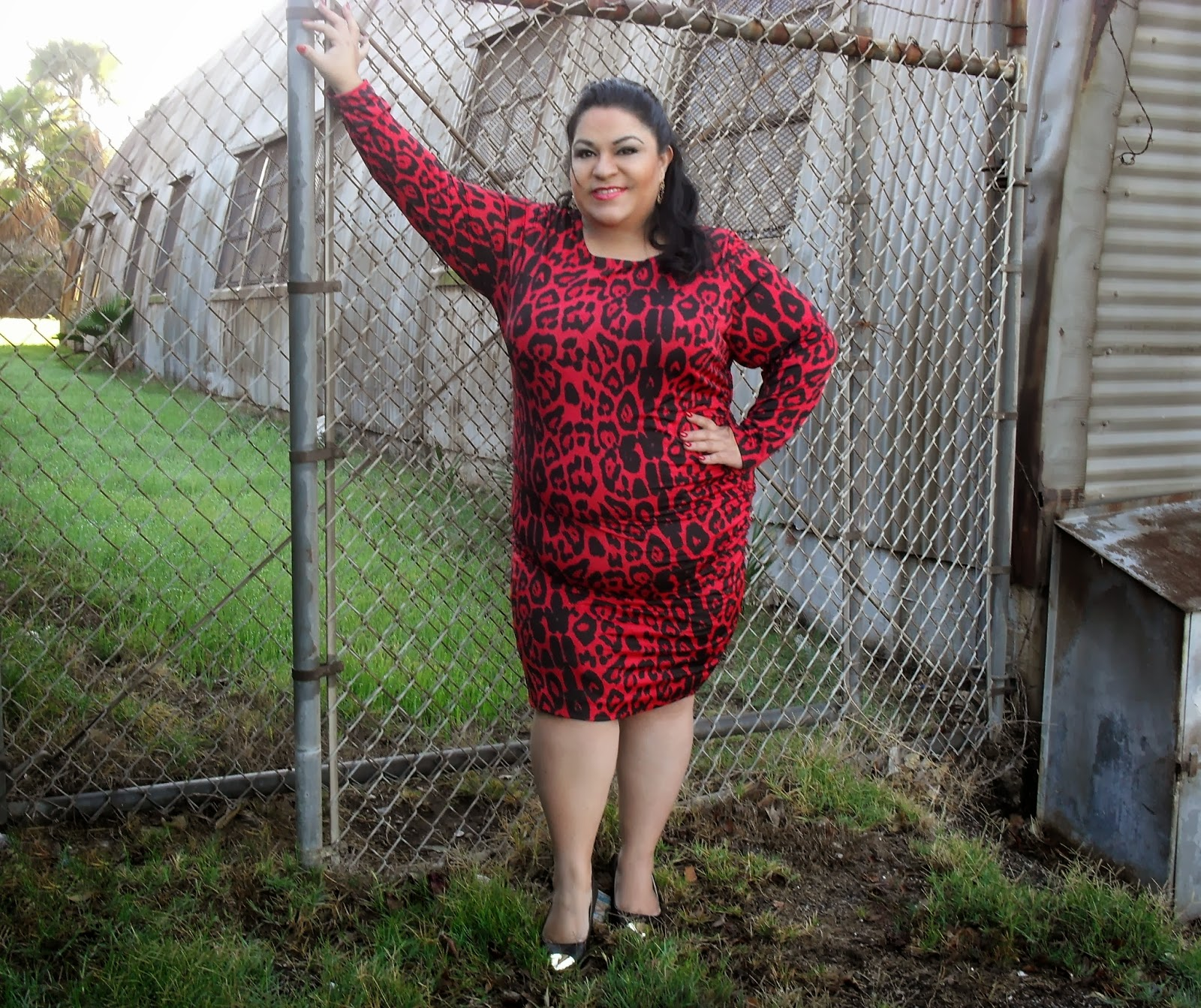 ferocious in my dress from inc (outfit of the day) - bbwgeneration