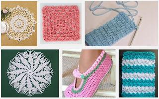 Crochet Patterns Beginners : Different Crochet Patterns For Beginners CROCHETOPEDIA