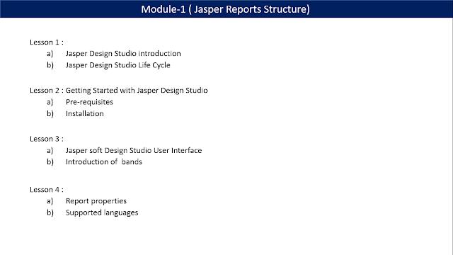 JasperSoft BI Suite Tutorials