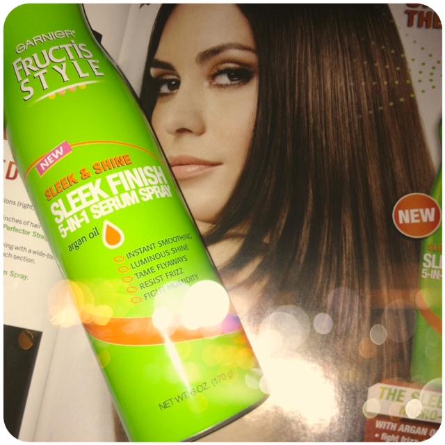 Beauty Girl Musings: Hair Therapy: Garnier Sleek Finish