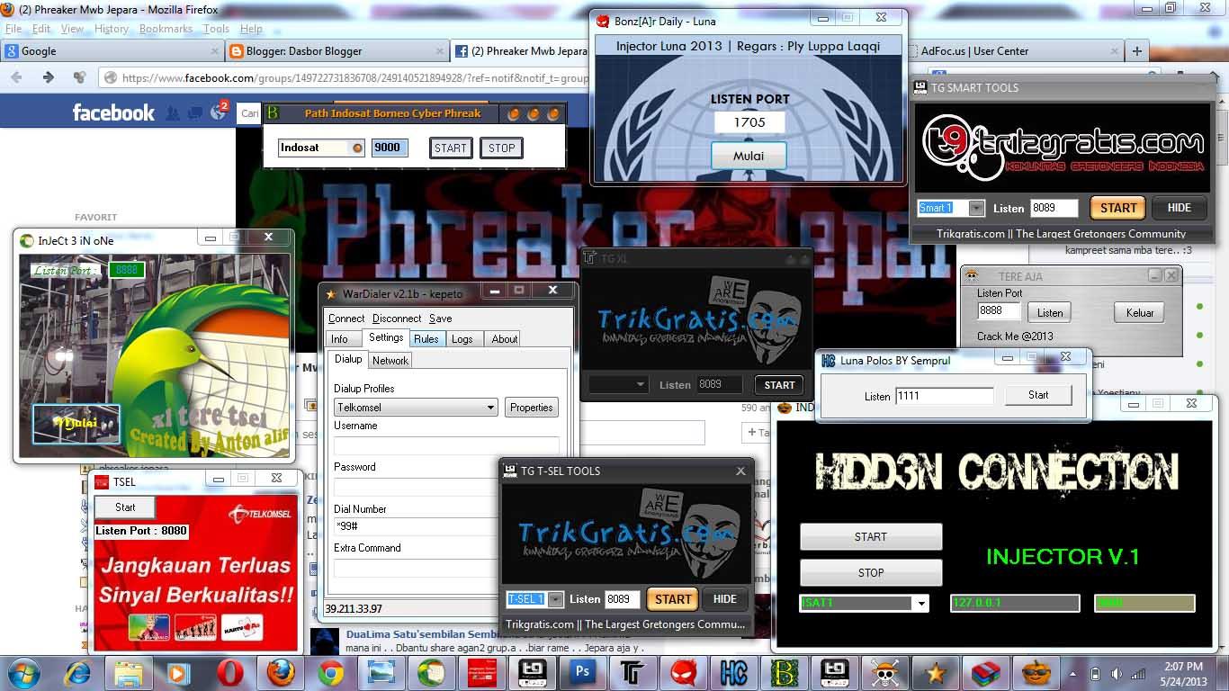 INTERNET GRATIS PC/LAPTOP ALL OPERATOR VIA INJECT 100%WORK ...