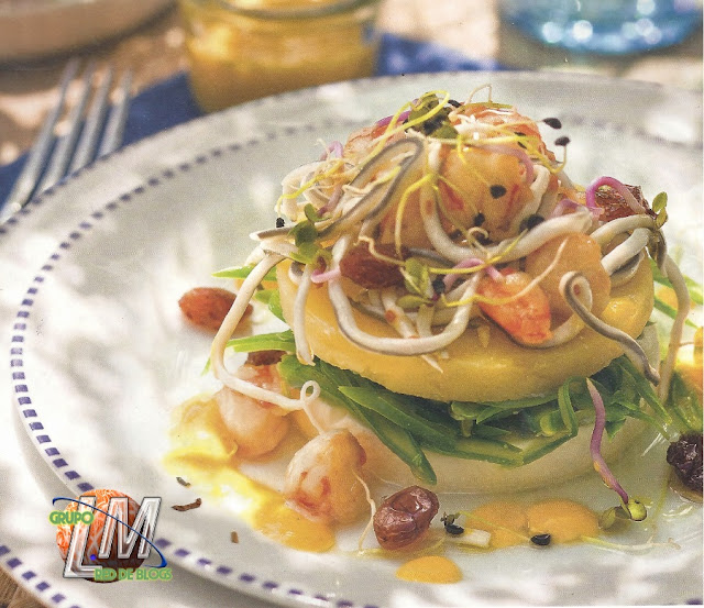 Ensalada de patata y marisco