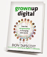 Book cover: Grown Up Digital by Don Tapscott.  Image Source: http://farm5.staticflickr.com/4133/4946166454_28ca4b4420_z.jpg