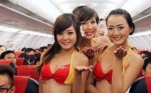 Pramugari Vietnam Sekarang Hanya Pakai Bikini