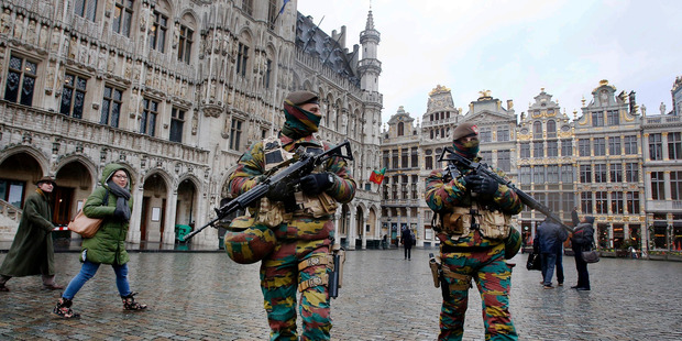 Two suspected of plotting attacks arrested in Belgium