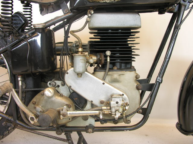EMC 1947 Twin 350 cc- Dr Joseph Ehrlich-very-rare-Vintage-motorcycle