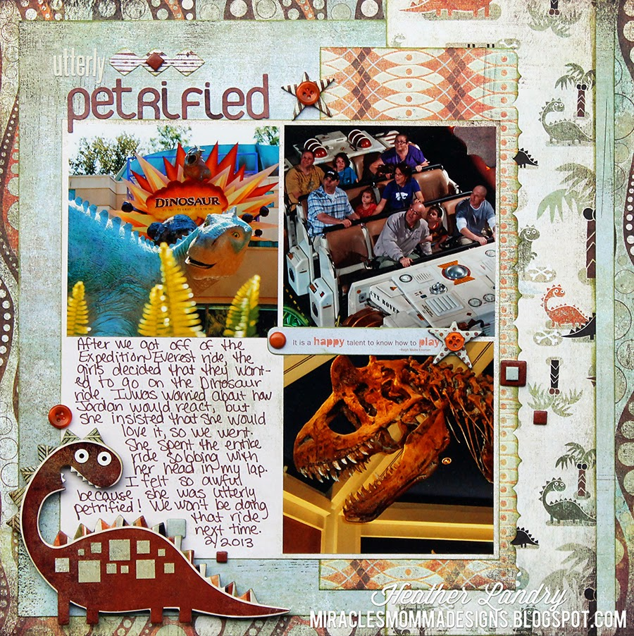 Animal Kingdom_Dinosaur_Disney Scrapbook