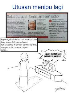 Solat Jumaat Di Kelantan 'berimamkan' radio Kerana Amanat Haji Hadi