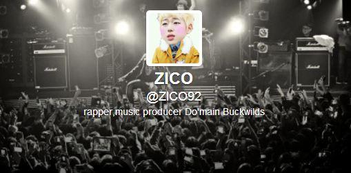 Zico Block B Twitter