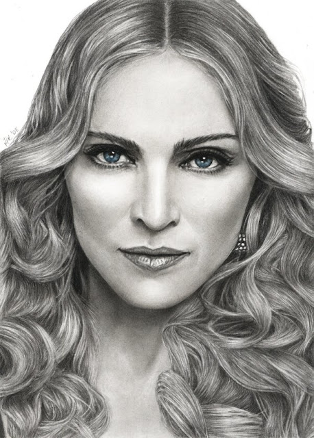 Best Celebrity Pencil Sketch 11