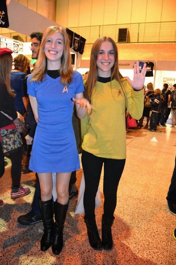 Cosplay de técnicos de Star Trek en Mangafest 2013