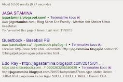 Cara Mengatasi Fenomena Blog DeIndex Oleh Google - Mau tau?