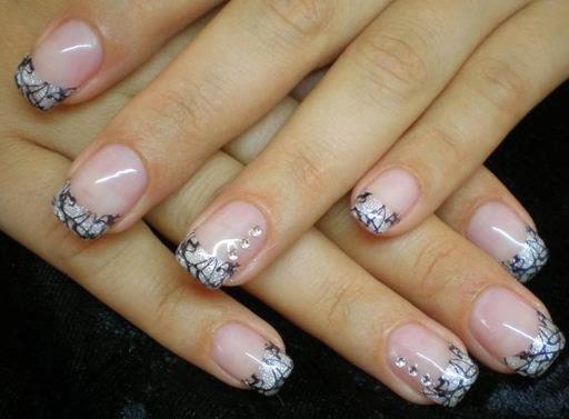 beautiful luxury acrylic nail art