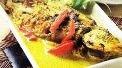 ikan bawal kuah kuning enak