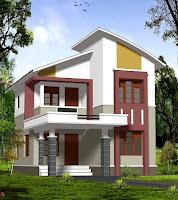 contoh desain rumah mewah