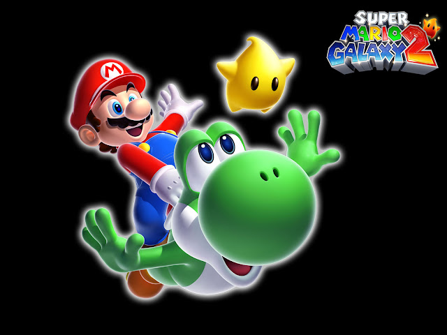 super mario galaxy 2 nintedo wii game
