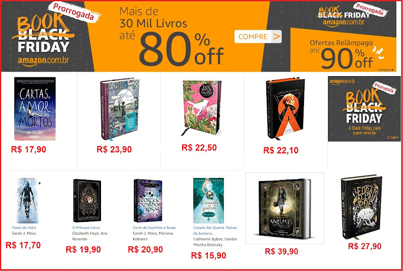 Book Friday foi Prorrogada