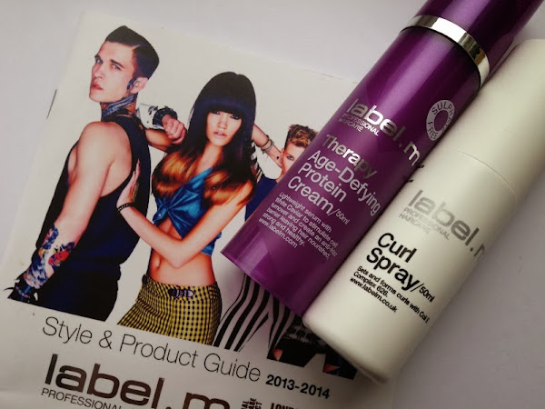 Label.M Age-Defying Protein Cream & Curl Spray.