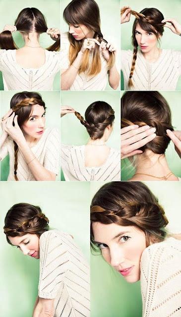 El rinc n de mimi tres peinados paso a paso con trenzas - Como hacer peinado para boda ...