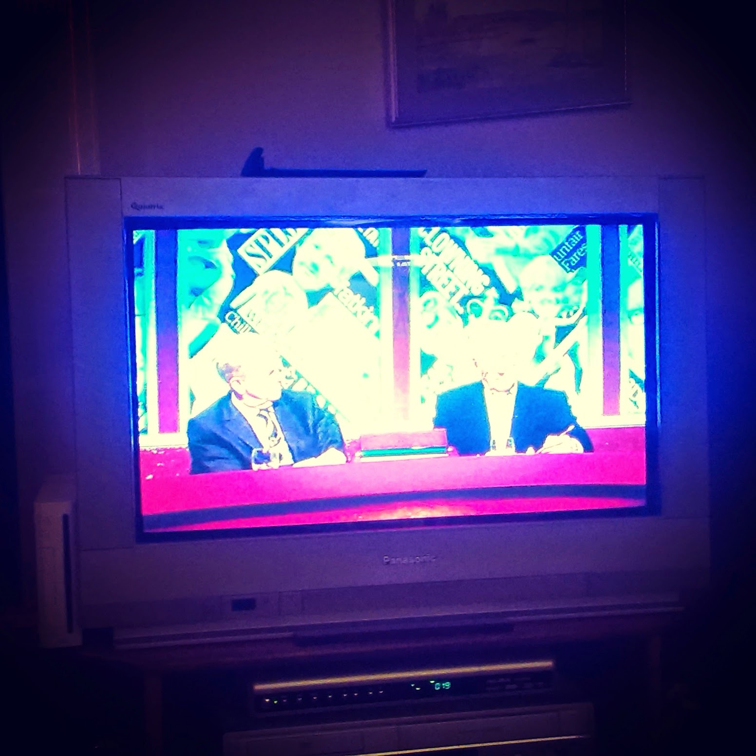 Watching Have I Got News For You