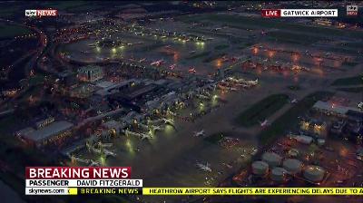 Espaço Aéreo de Londres Gatwick