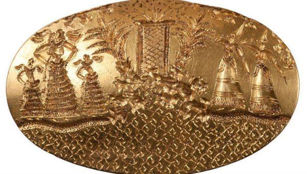 Καταπληκτικά χρυσά κοσμήματα της προϊστορικής Ελλάδας βρέθηκαν στην Πύλο