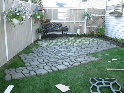 Jardines decorados con piedra cocinas modernass - Jardines bien decorados ...