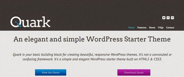Quark starter theme for WordPress