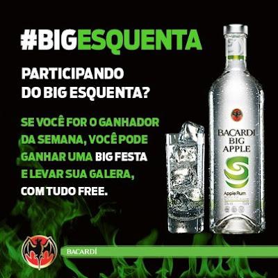 Concurso Cultural Bacardi ( Big Esquenta)