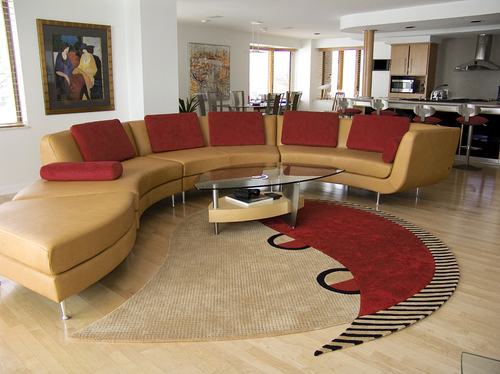 Modern sofa set designs an interior design for Designer living room sets