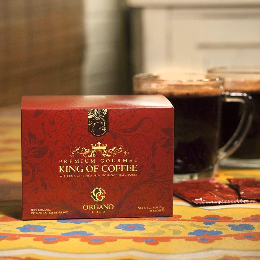 Premium Gourmet King of Coffee Organo Gold Cafe vua ngon tuyệt