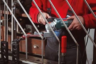 Máy giũa đai inox BFE 9-90