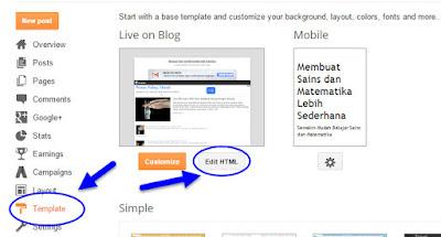 Memasang Iklan Jenis Link Adsense Sekarang Tidak Perlu di Parse