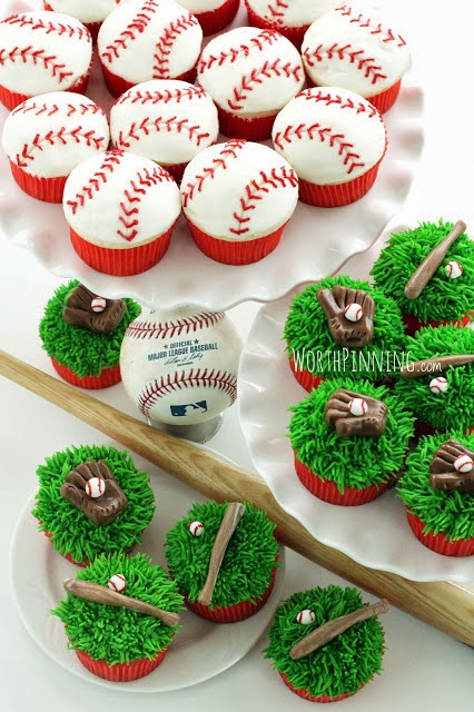 Football Baseball Cake Board