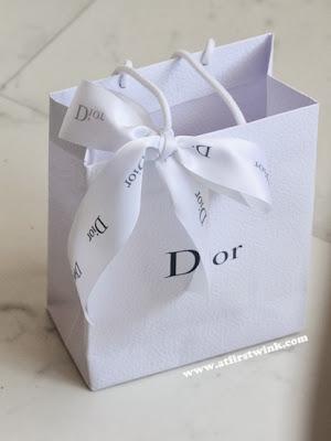 Dior goodiebag