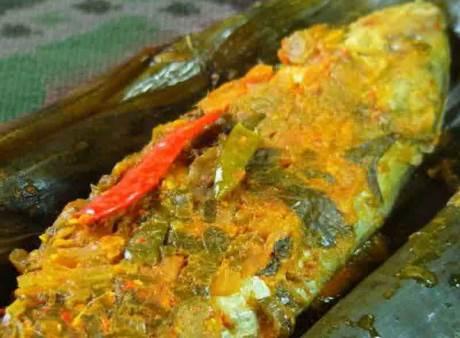 Resep Pepes Ikan Mas yang lezat