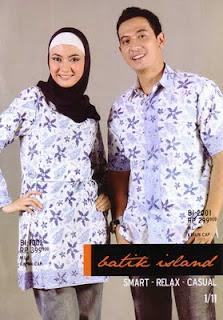 Model Batik Muslim Muslimah Modern