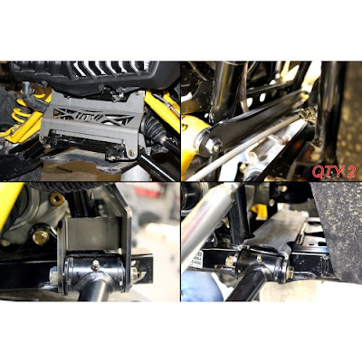 Can-Am Maverick Front Gusset Kit