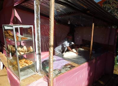 Шри-Ланка, выпечка, самоса, раскатка теста
