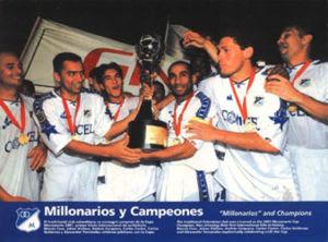 Revive la Ultima vez que Millonarios fue campeón
